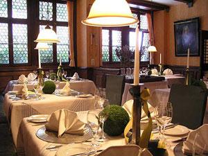 Romantische Gaststube in der Weinregion Franken