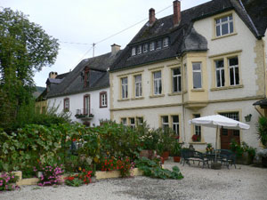 Weinhotel Innenhof